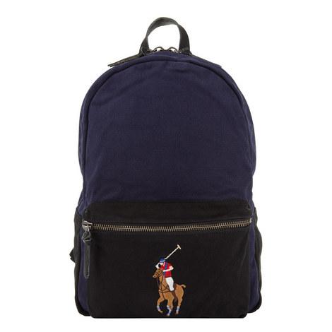 Pony Logo Backpack, ${color}