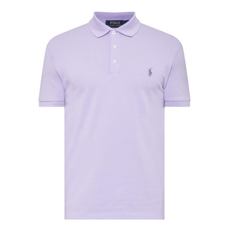 Slim Fit Piqué Polo Shirt, ${color}