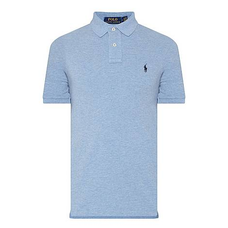 Slim Fit Pique Polo Shirt, ${color}