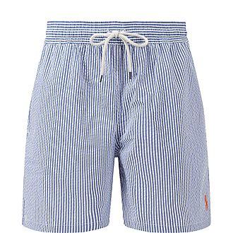 Traveller Seersucker Swim Shorts