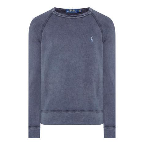 Washout Crew Neck Sweatshirt, ${color}