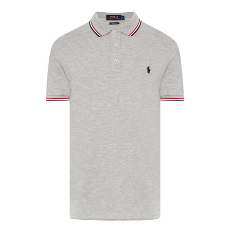 Custom Fit Tipped Polo Shirt , ${color}