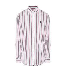 Wide Stripe Oxford Shirt