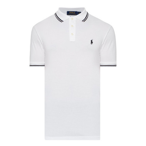 Custom Slim Fit Tipped Polo Shirt , ${color}