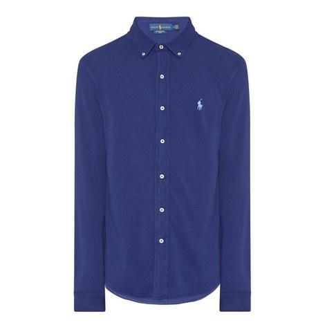 Featherweight Piqué Shirt, ${color}