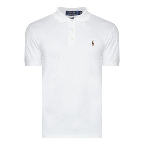 Pima Cotton Slim Fit Polo Shirt, ${color}