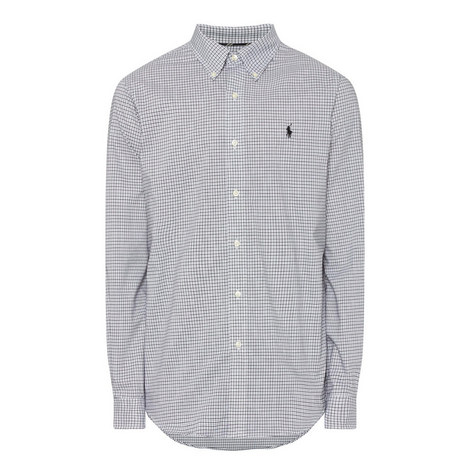 Check Pattern Oxford Shirt, ${color}