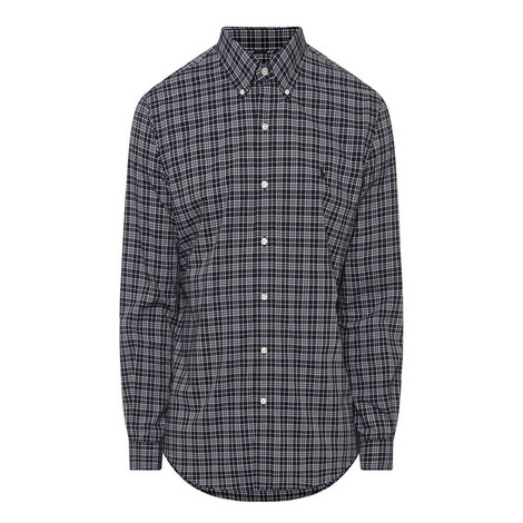 Check Pattern Poplin Shirt, ${color}