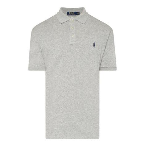 Fleece Polo Shirt, ${color}