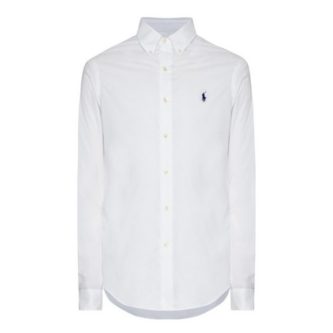 Poplin Slim Fit Shirt, ${color}