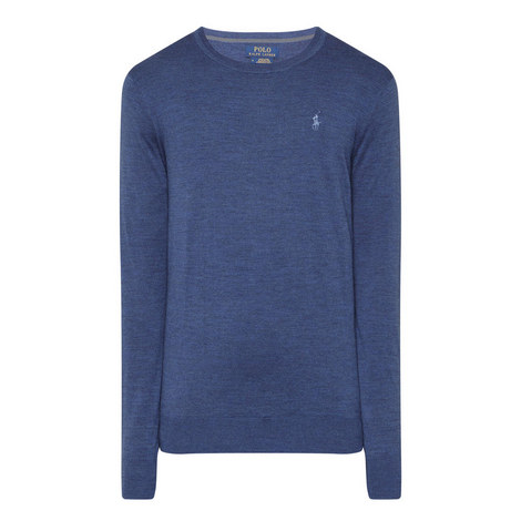Crew Neck Merino Wool Sweater, ${color}