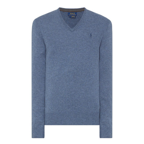 V-Neck Wool Sweater, ${color}