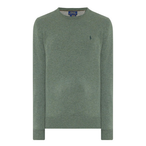 Crew Neck Merino Wool Jumper, ${color}