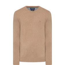 Crew Neck Wool Sweater