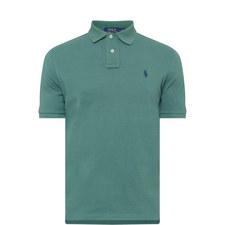 Custom Fit Cotton Piqué Polo Shirt