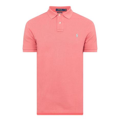 Custom Fit Cotton Piqué Polo Shirt, ${color}