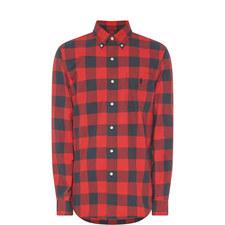 Buffalo Check Oxford Shirt