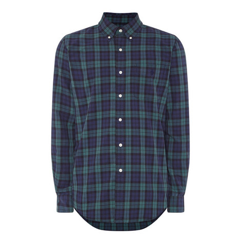 Tartan Oxford Shirt, ${color}