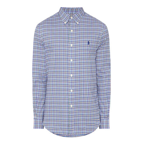 Check Twill Shirt, ${color}
