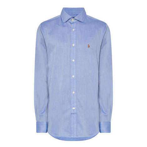 Button-Down Twill Shirt, ${color}