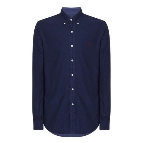 Slim Fit Oxford Shirt, ${color}