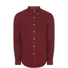 Long-Sleeved Oxford Shirt