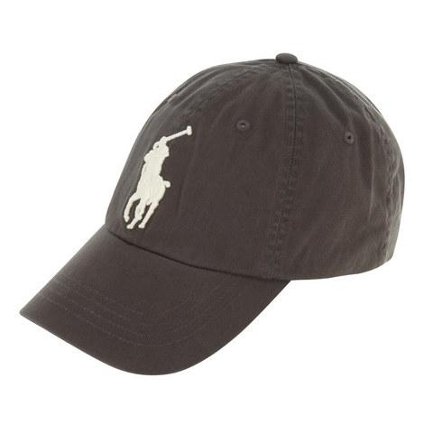 Large Logo Baseball Cap, ${color}