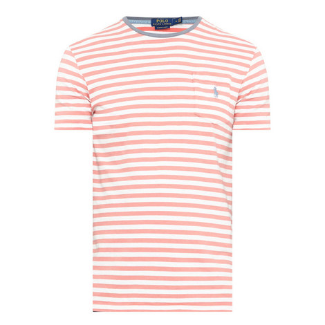 Stripe Crew Neck T-Shirt, ${color}