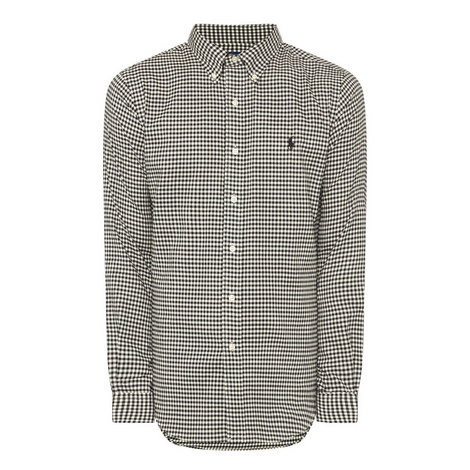 Slim Fit Check Shirt , ${color}