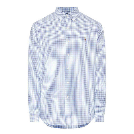 Custom Fit Micro-Check Shirt , ${color}