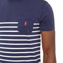 Multi-Stripe Crew Neck T-Shirt, ${color}