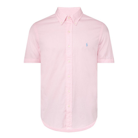 Twill Slim Fit Shirt, ${color}