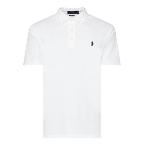 Pima Cotton Polo Shirt, ${color}