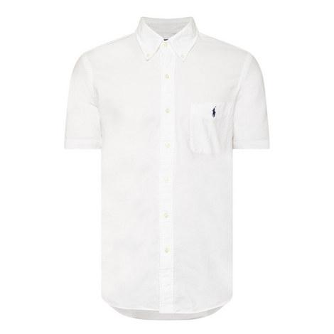 Slim Fit Oxford Cotton Shirt, ${color}