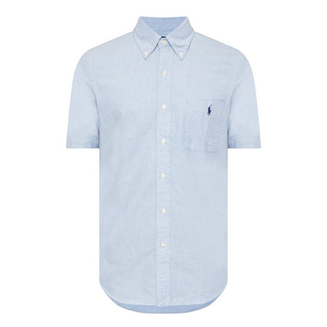 Oxford Slim Fit Cotton Shirt, ${color}