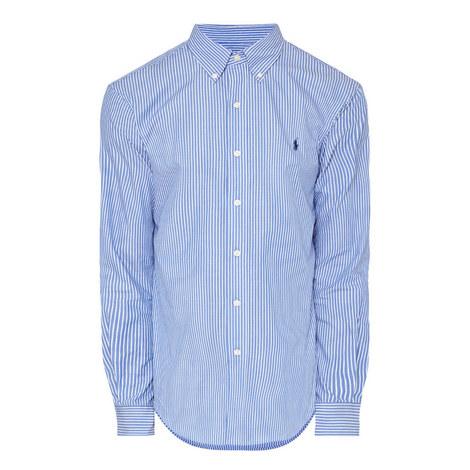 Classic Pinstripe Shirt, ${color}