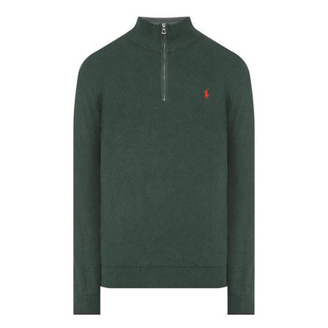 Half-Zip Textured Sweater, ${color}