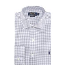 Slim Fit Poplin Polo Shirt