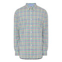 Long Sleeve Check Shirt, ${color}
