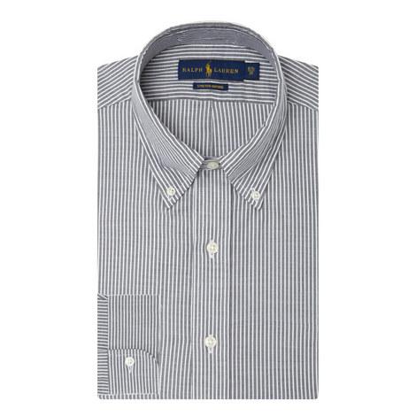 Custom Fit Stripe Shirt, ${color}