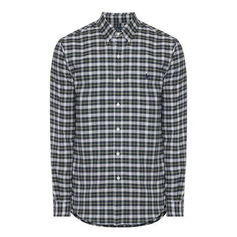 Check Button Down Shirt, ${color}