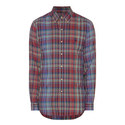 Tartan Custom Fit Oxford Shirt, ${color}