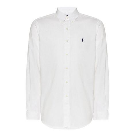 Custum Fit Cotton Shirt, ${color}
