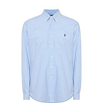 Check Poplin Custom Fit Shirt
