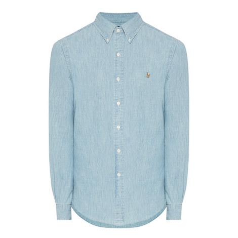 84f81176c1 POLO RALPH LAUREN Slim Fit Denim Shirt
