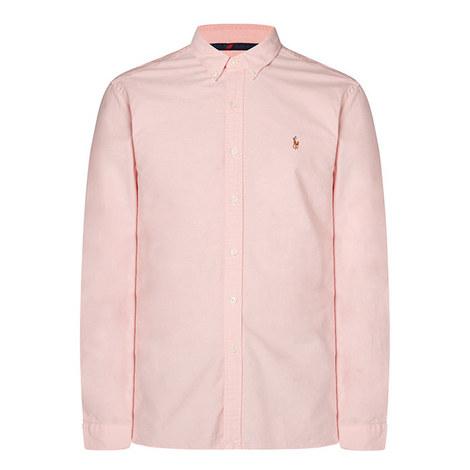 Slim Fit Cotton Oxford Shirt, ${color}