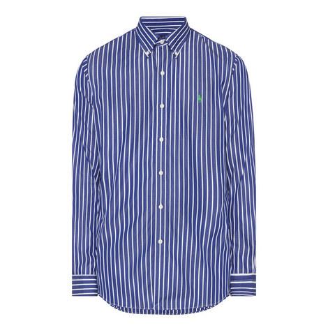 Custom Fit Wide Stripe Shirt, ${color}