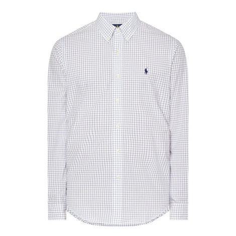 Window Pane Check Shirt, ${color}