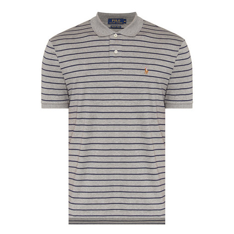 Custom Fit Cotton Pique Polo Shirt, ${color}