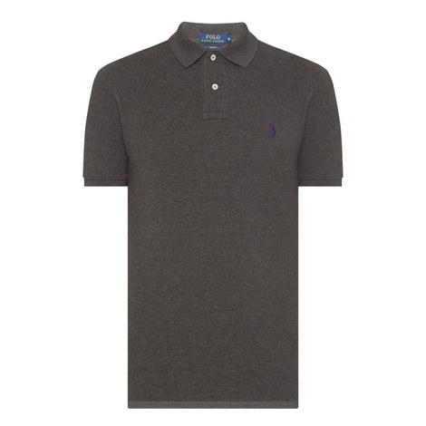Slim Fit Cotton Pique Polo Shirt, ${color}